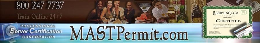 Washington MAST Bartender Permit Online $8.99